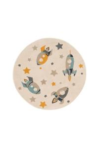 Kusový koberec Apollo kruh 7207 krémový