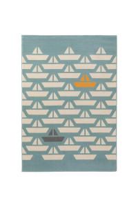 Kusový koberec Juno 5858 tyrkysový