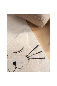 Kusový koberec Momo 6541 krémová