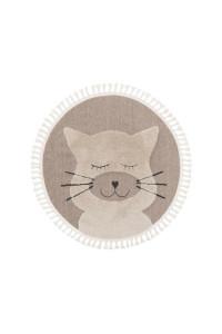 Kusový koberec Momo kruh 6542 béžová