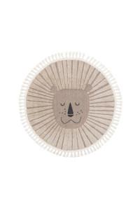 Kusový koberec Momo kruh 6544 béžová