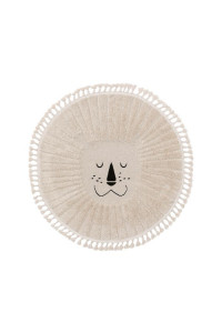 Kusový koberec Momo kruh 6544 krémová