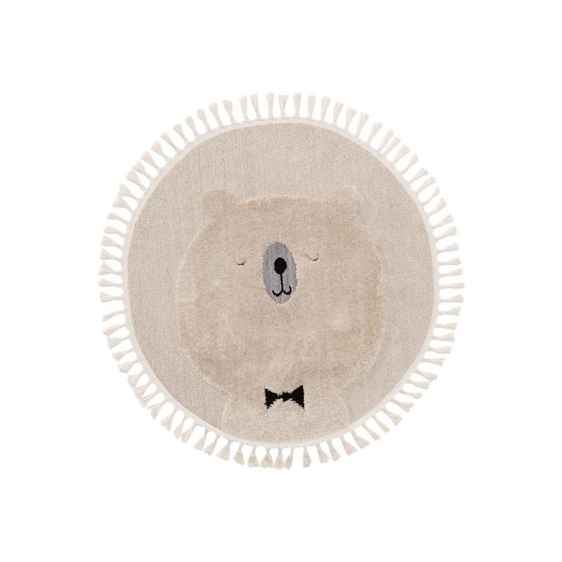 Kusový koberec Momo kruh 6538 krémová