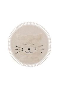 Kusový koberec Momo kruh 6542 krémová