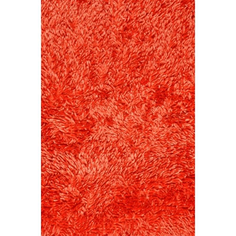 Kúpeľnový koberec Shine shaggy salmon