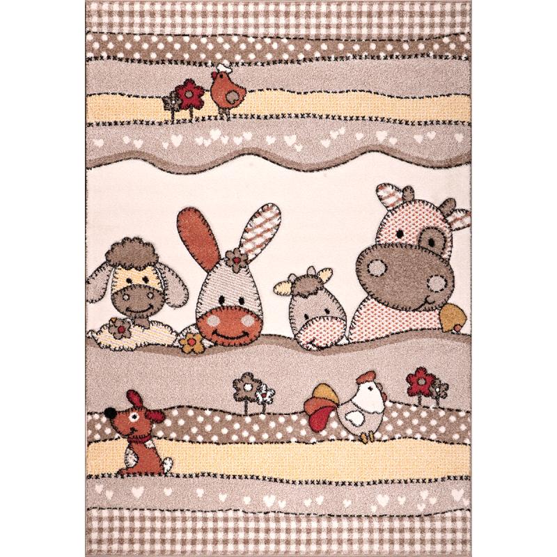 kusový koberec Jasper Kids 21484-70 beige