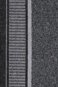 Romano 8727 čierny behúň s gélovým podkladom