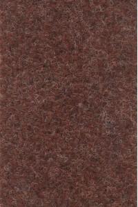 Meraný filcový koberec Zero 86 tehlový