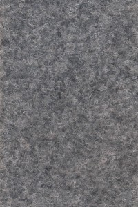 Meraný filcový koberec Zero 14 sivý