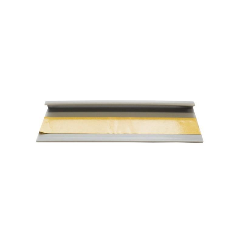 Kobercová soklová lišta 42222 2,5m sivá
