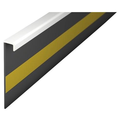 Kobercová soklová lišta biela 42232 2,5m