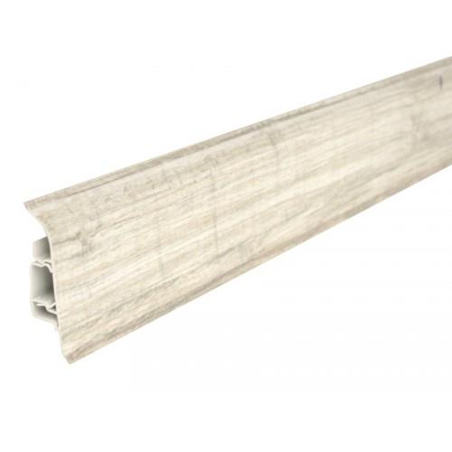 Plastová soklová lišta Bolta 5cm 0551 Dub bieleny