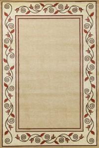 kusový koberec Metal 0371 l.beige l.beige
