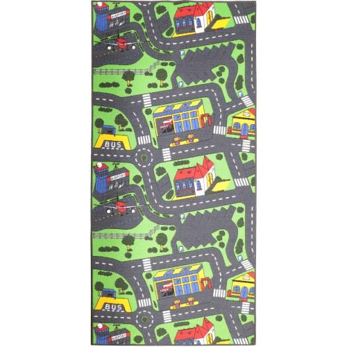 Detský koberec s obšitím