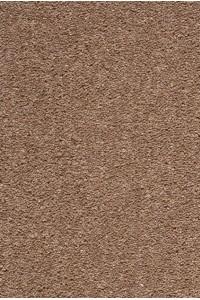 hnedý vlnený koberec metrážny larnaka 875