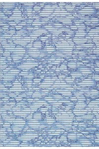modrá kupeľnová rohož Comfortex 74311