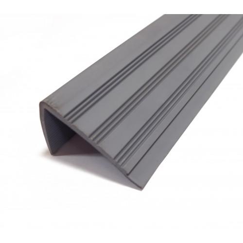Schodová hrana 82x45mm 280 sivá