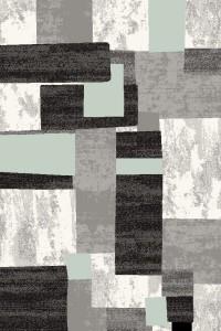 Kusový koberec Tampa 4209A grey/green