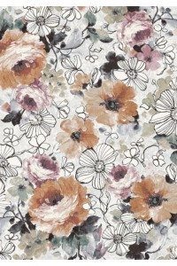Kvetovaný koberec Ramon 63422 6626