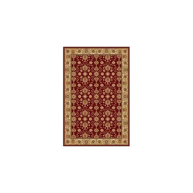 Vlnený koberec Isfahan Kantabria ruby