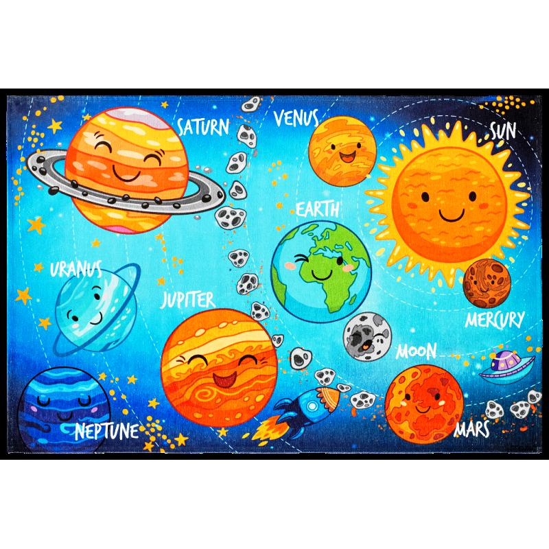 Detský koberec Torino Kids solar system