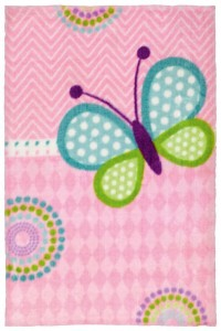 Detský koberec Lollipop 184 motýľ