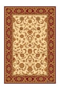 Vlnený koberec Isfahan Anafi amber