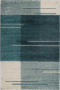 Koberec Gravis new 4232A navy/turquoise