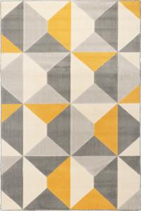 Koberec Novara 18241 272 šedá žltá