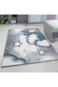 Detský koberec Kids 580 modrý