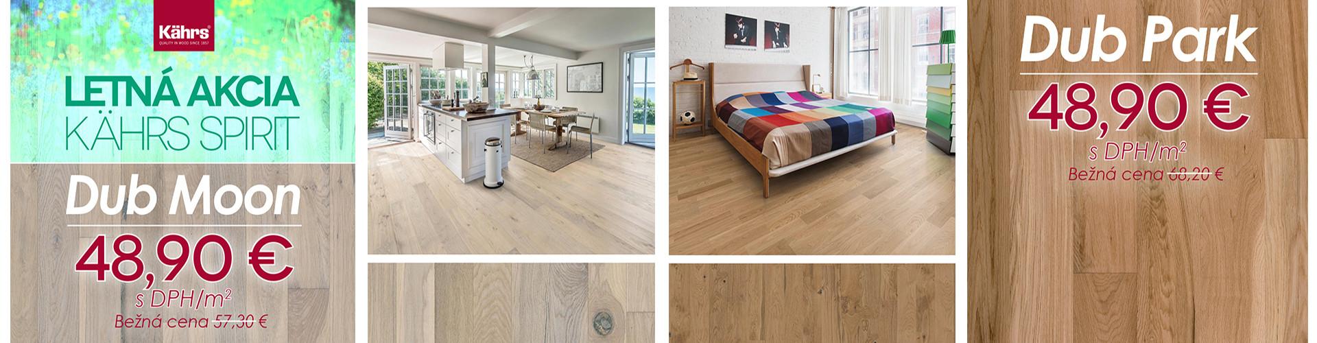 Letná akcia na drevené podlahy